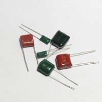 Mylar Film Capacitor, 100V, Radial Lead