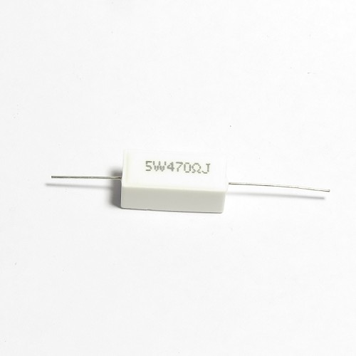 Cement Resistor 5W 5%