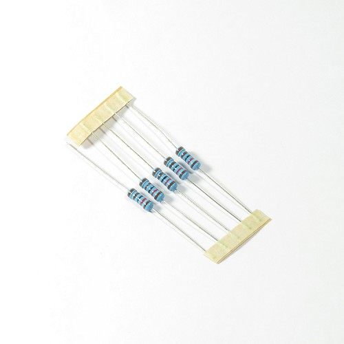 1/2W Metal Film Resistors - Pack of 5